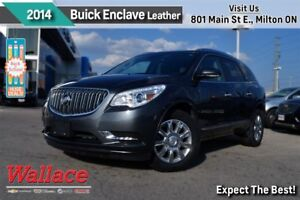 2014 Buick Enclave LEATHER/DUAL SUNROOF/HTD STS/TOW PKG/REAR CAM