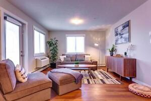 1 BDRM in a brand new Edmonton building with fitness center!