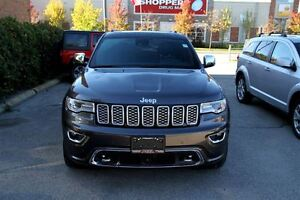 2017 Jeep Grand Cherokee Overland CERTIFIED & E-TESTED!**FALL SP