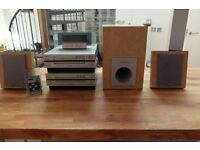 VINTAGE PIONEER COMPACT HI FI STEREO SYSTEM XC-L7, CT-L7