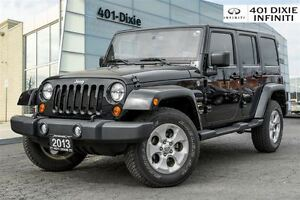 2013 Jeep Wrangler Unlimited Sahara! Hard/Soft top included!