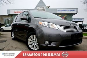 2014 Toyota Sienna XLE WITH LIMITED PKG DVD|NAVI|Blind spot warn