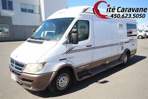 2004 Leisure Travel Vans Classe B 2004 , chassis dodge spinter .