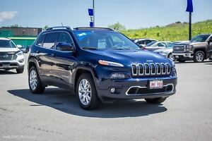 2015 Jeep Cherokee Limited! LEATHER! NAV! SUNROOF! 4X4!
