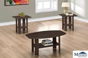 Brand New 3-Piece Coffee Table Set! Call 709-489-1001!