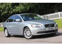 VOLVO S40 1.6 D DRIVe SE Lux 4dr (start/stop) RAC WARRANTY! (silver) 2011