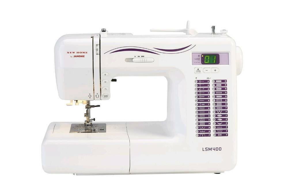 Janome New Home LSM400 heavy duty sewing machine