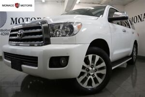 2014 Toyota Sequoia LIMITED NAV DVD BAC CAM 8 PASS 4WD