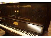 C. Bechstein unique and rare upright piano. Delivery available
