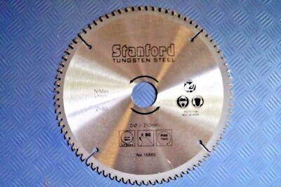 210 mm Sägeblatt HM 80 Z für Alu Kreissägeblatt Sägeblätter Aluminium Säge