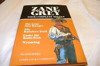 FOUR COMPLETE NOVELS BY ZANE GREY