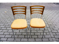 2 Stylish Retro Chairs by 'Keron' 1960/70's FREE DELIVERY CENTRAL EDIBURGH