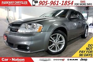 2013 Dodge Avenger SXT| HEATED SEATS| 18in ALLOYS| SPOILER| FOGL