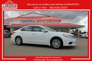 2016 Nissan Altima 2.5 S LOW KMS!! REDUCED PRICE