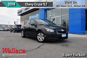 2014 Chevrolet Cruze 1LT/1-OWNER/LOCAL TRADE/LOW KM/REMOTE START