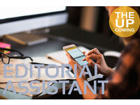 Editorial Assistant: work experience in online publishing media part time, from home, volunteer