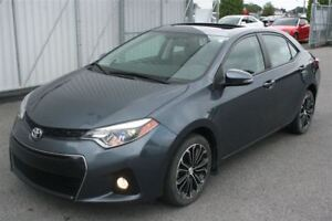2014 Toyota Corolla S **MAGS/CUIR/TOIT**  SEULEMENT 34 957KM*