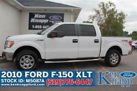 2010 Ford F-150 XLT | 5.4L V8 | 4X4 | SYNC | Cloth