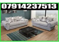 THIS WEEK SPECIAL OFFER BRAND NEW VERONA 3 + 2 OR CORNER SOFA SUITE 0454