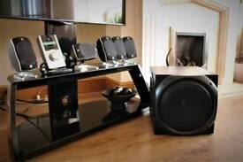 Logitech pc surround sound speakers