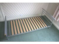 *No assembly required* Low Jay-Be Steel Toddler Children Single Bed Frame