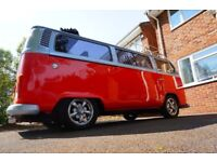 1975 BayWindow Camper feautred in Camper & Commercial Magazine a head turner and fully restored