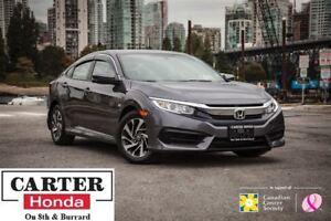 2016 Honda Civic EX + LOCAL + ACCIDENT FREE + SUNROOF + CERTIFIE