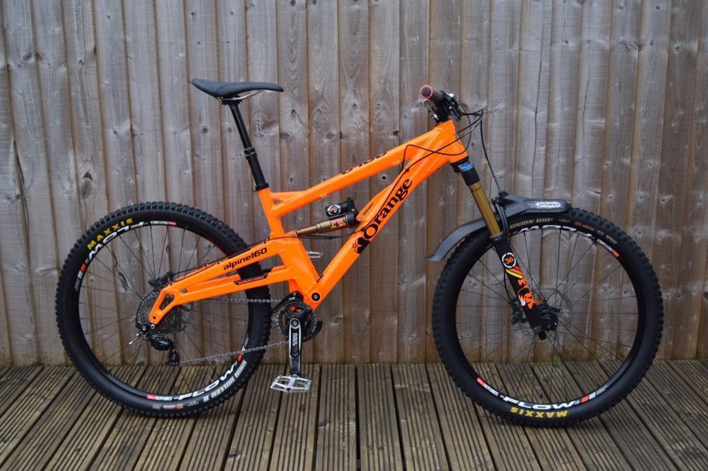Orange Alpine 160 Rs 2015 Mountain Bike Not Specialized