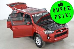 2015 Toyota 4Runner SR5 GPS+Cuir+Toit Ouvrant 7 Passagers