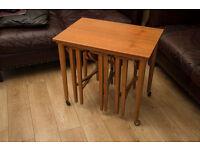 Vintage Mid Century Nest of Tables