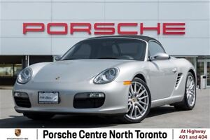 2007 Porsche Boxster LOW KM'S, 2 OWNER VEHICLE, GREAT CONDITION,