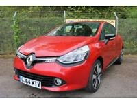 Renault Clio 1.5 Dynamique S MediaNav DCi 90 Turbo Diesel 5DR Auto (flame red) 2014