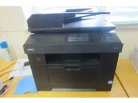 DELL 2355DN MONO LASER ALL IN ONE PRINTER,SCANNER,FAX & COPY MACHINE