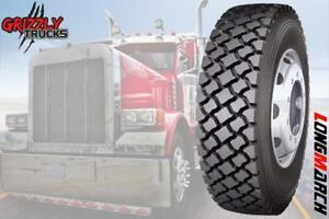 BRAND NEW LONGMARCH LM528 DRIVE TIRES !!! NATIONWIDE BEST PRICES!!! SHIPPING AVAILABLE