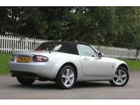 MAZDA MX-5 2.0 I 2d 160 BHP RAC WARRANTY + BREAKDOWN COVER!! (silver) 2006