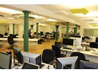 EC2A Desk Space for Rent from 1 -92 Desks - Shoreditch (Community) Shared Office Workspace