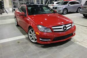 2013 Mercedes-Benz C-Class 4Matic with Sunroof, Leather, Navigat