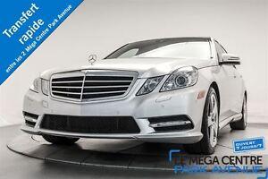 2013 Mercedes-Benz E350 4MATIC * SPORT PACK, GPS, CAMÉRA, TOIT P