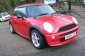 MINI ONE CHILLY RED JOHN COOPER WORKS BODY KIT,