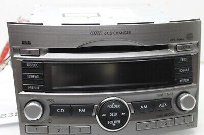 Subaru Outback Autoradio Radio CD Player 6-fach Wechsler 86201AJ410 Outback Radio
