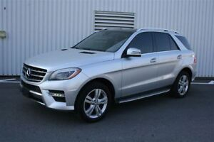 2014 Mercedes-Benz M-Class ML350 BlueTEC 4MATIC Premuin Bi-Xenon