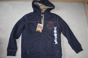 BRAND NEW - REIGN SUPREME SHERPA LINED HOODIE - SIZE 8