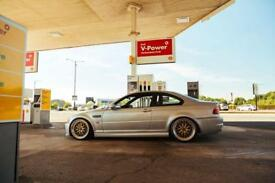 E46 M3 , low miles , modified, lowered