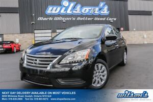 2013 Nissan Sentra S POWER PACKAGE! KEYLESS ENTRY! INFO CENTER!