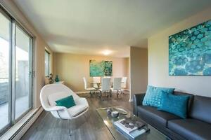 Renovated One Bedroom: Ideal Downtown Location - March Move-in