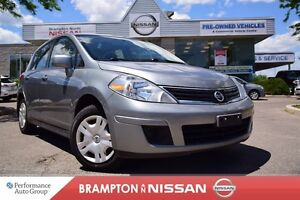 2012 Nissan Versa 1.8 S With Factory Sunroof Auto Trans Runs Gre