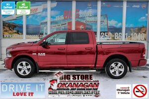 2015 Ram 1500 Sport, No-Accidents, Not Smoked In, One Owner, LOA