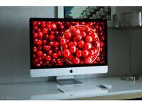 5K Retina 27' Slim Apple iMac 4.2Ghz Quad i7 64GB 512GB SSD Adobe 21' Suite Photoshop Lightroom FCPX
