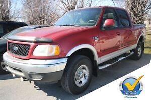 2002 Ford F-150 XLT A/C CRUISE MARCHE PIED