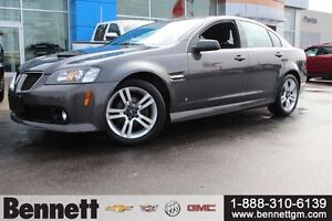 2009 Pontiac G8 Base - Sunroof, Dual Exhaust, Comfort and Sound